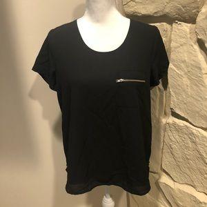 Paper crane blouse medium